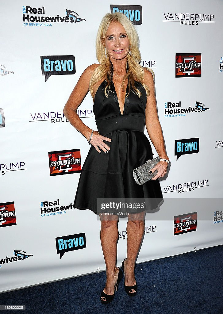 Kim Richards attends the 'The Real Housewives of Beverly Hills' and 'Vanderpump Rules' premiere party at Boulevard3 on October 23, 2013 in Hollywood, California.