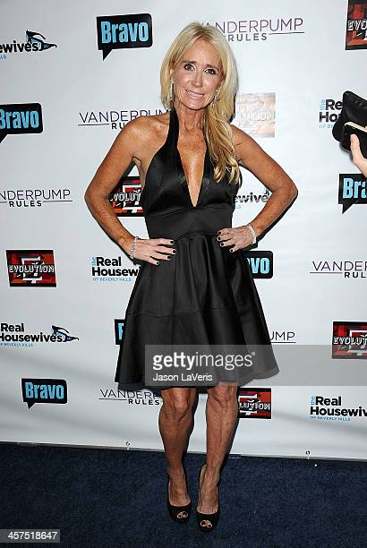 Kim Richards attends the 'The Real Housewives of Beverly Hills' and 'Vanderpump Rules' premiere party at Boulevard3 on October 23 2013 in Hollywood...