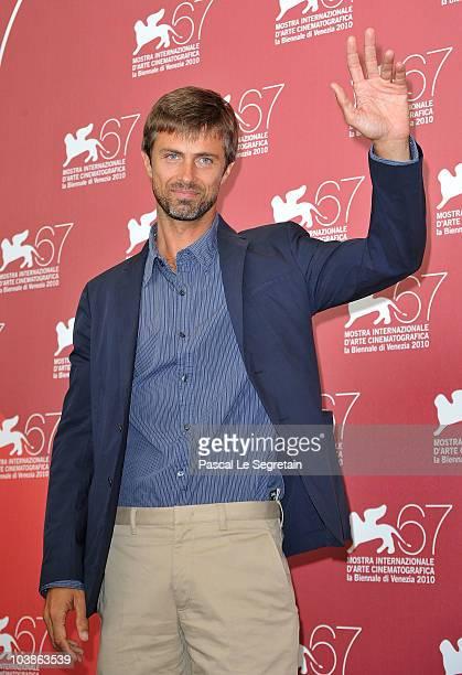 Kim Rossi Stuart attends the 'Vallanzasca' photocall during the 67th Venice Film Festival at the Pallazo del Casino on September 6 2010 in Venice...