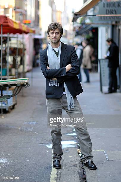 Kim Rossi Stuart poses for portraits in Soho during the London Italian Film Festival on March 4 2011 in London England