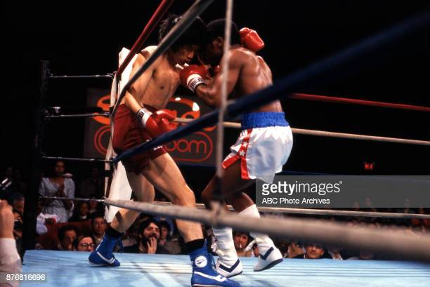 Kim Sanghyun Aaron Pryor boxing at Sands April 2 1983