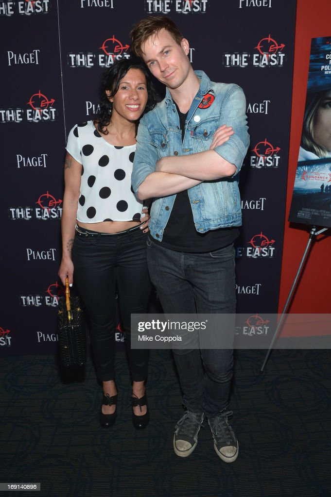 Kim Schifino (L) and Matt Johnson of the musical group Matt & Kim attend the New York premiere of 'The East' at Sunshine Landmark on May 20, 2013 in New York City.