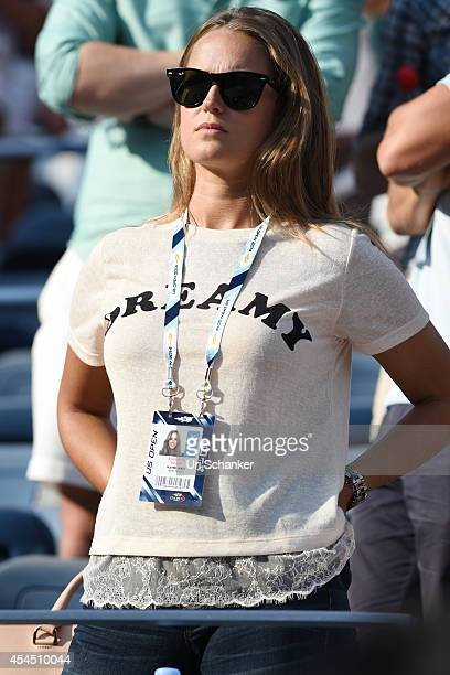 Kim Sears attend day 8 of the 2014 US Open at USTA Billie Jean King National Tennis Center on September 1 2014 in the Flushing neighborhood of the...