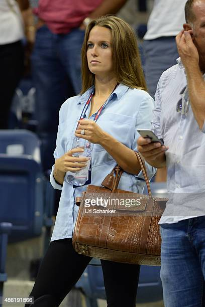 Kim Sears attends day 2 of the 2015 US Open at USTA Billie Jean King National Tennis Center on September 1 2015 in New York City