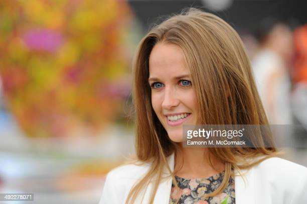 Kim Sears attends the VIP preview day of The Chelsea Flower Show at The Royal Hospital Chelsea on May 19 2014 in London England