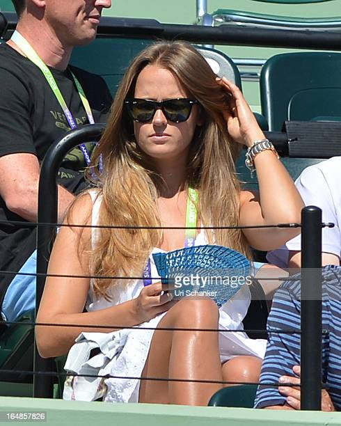 Kim Sears is sighted at the Sony Tennis Open 2013 at Crandon Park Tennis Center on March 28 2013 in Key Biscayne Florida
