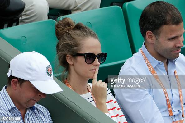 TENNIS-FRA-OPEN-MEN-PEOPLE : News Photo