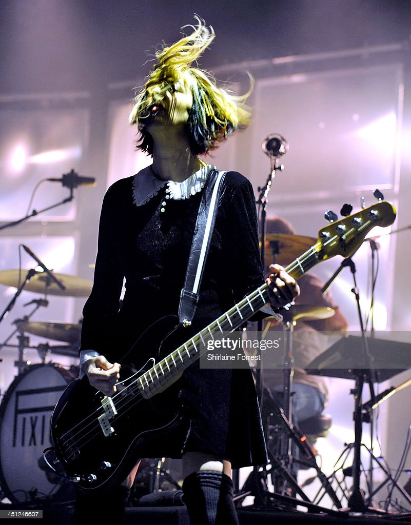 Kim Shattuck of Pixies performs on stage at Apollo on November 21 2013 in Manchester United Kingdom