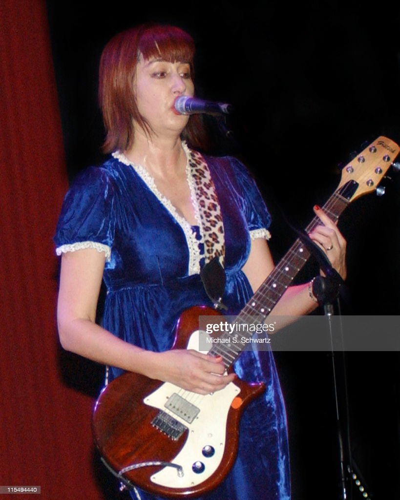 Kim Shattuck of The Muffs during The Muffs and The 88 in Concert at The House of Blues in Anaheim California April 27 2006 at The House of Blues in...