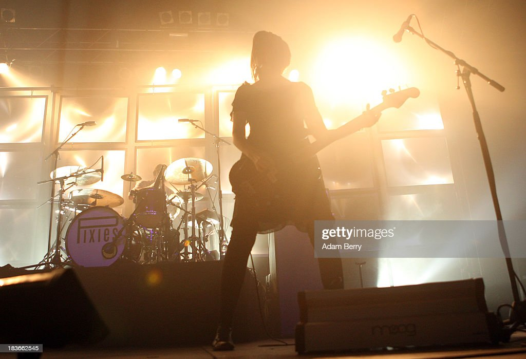 Kim Shattuck performs with Pixies at Huxleys Neue Welt on October 8 2013 in Berlin Germany