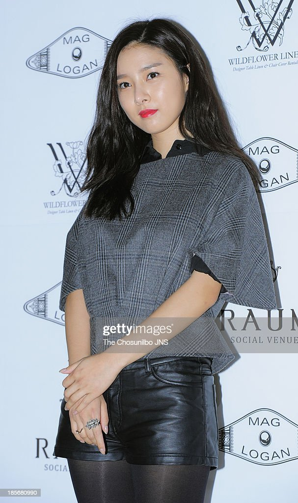 <a gi-track='captionPersonalityLinkClicked' href=/galleries/search?phrase=Kim+So-Eun&family=editorial&specificpeople=6670654 ng-click='$event.stopPropagation()'>Kim So-Eun</a> attends the Mag & Logan collection during Seoul Fashion Week 2014 S/S at the Raum on October 23, 2013 in Seoul, South Korea.