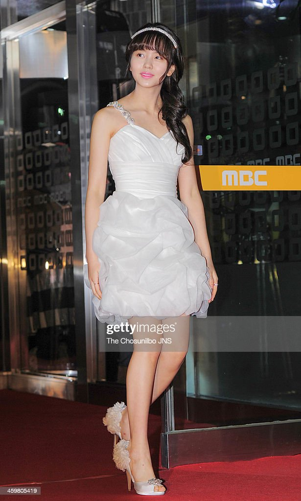 Kim So-Hyun arrives at the red carpet of the 2013 MBC drama awards at MBC Open hall on December 30, 2013 in Seoul, South Korea.