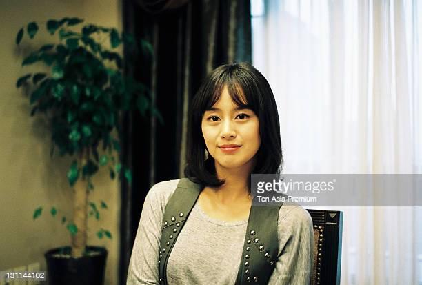 Kim TaeHee poses for photographs on September 15 2011 in Seoul South Korea