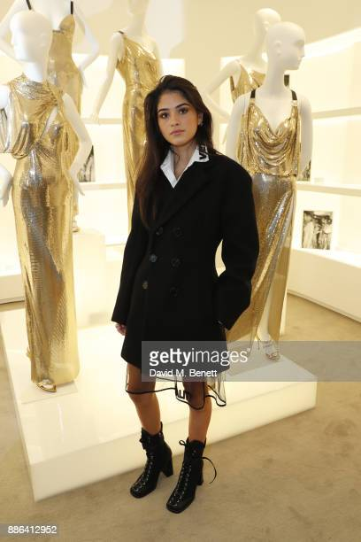 Kim Turnbull attends the launch of the new Versace Sloane Street store on December 5 2017 in London England