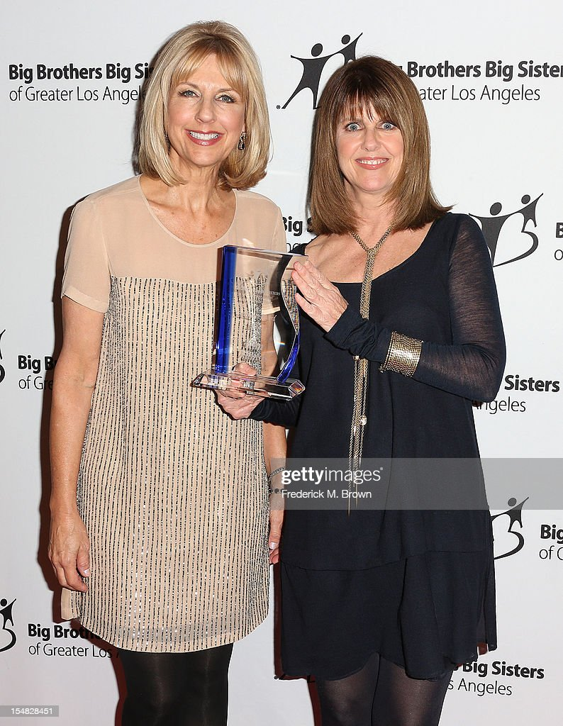 Kim Vamos and Pam Dawber attend Big Brothers Big Sisters Of Greater Los Angeles 2012 Stars Gala at The Beverly Hilton Hotel on October 26 2012 in...