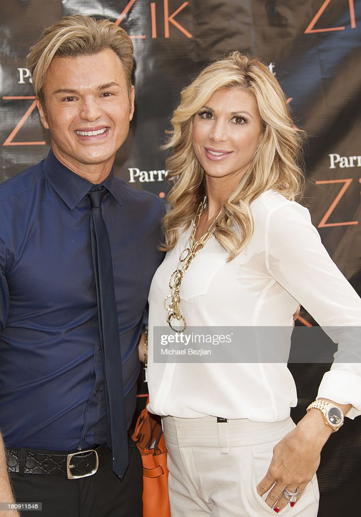 Kim Vo owner of Kim Vo Salon and television personality Alexis Bellino attend Bellafortuna Luxury Gift Suite Presented By Feri on September 17 2013...