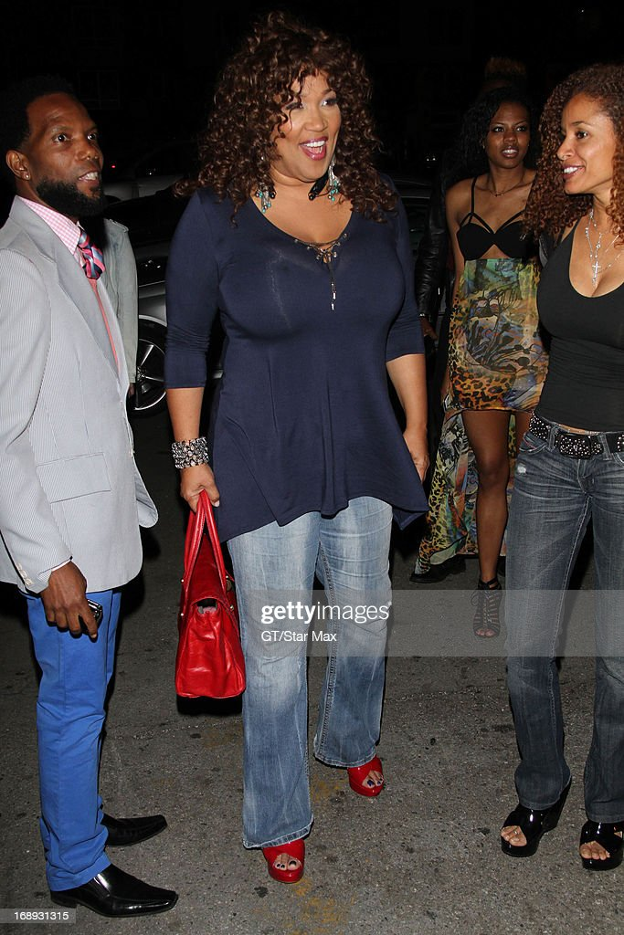 Kim Whitley as seen on May 16, 2013 in Los Angeles, California.