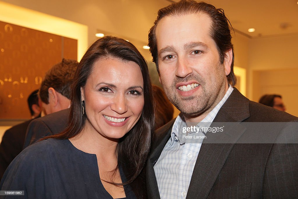 Kim Whitman and Justin Whitman attend the Grand Opening of the Omega Boutique at NorthPark on January 15, 2013 in Dallas, Texas.