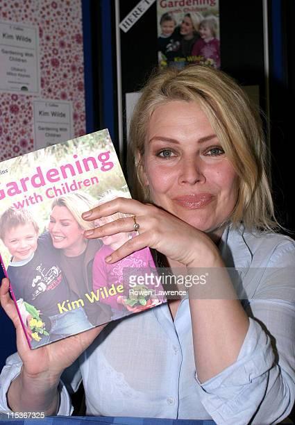 Kim Wilde during Kim Wilde Signs Her Book 'Gardening with Children' at Ottakar's Book Store in Milton Keynes at Ottakar's Book Store in Milton Keynes...