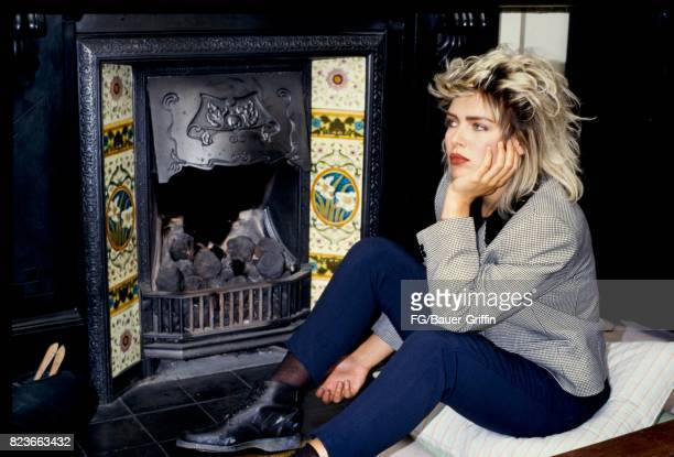 Kim Wilde in her new apartment in St John's Wood London on September 13 1982 in London United Kingdom 170612F1