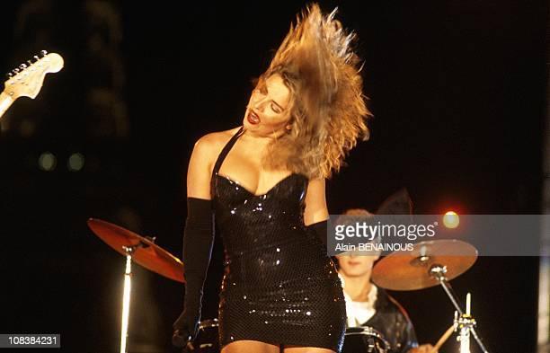 Kim wilde in Paris France on June 21 1990