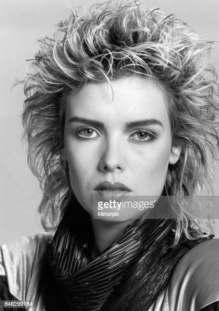 Kim Wilde pop singer 23rd October 1984