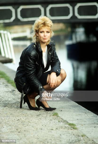 Kim Wilde posing at the canal near to her new apartment in St John's Wood on July 02 1988 in London United Kingdom 170612F1