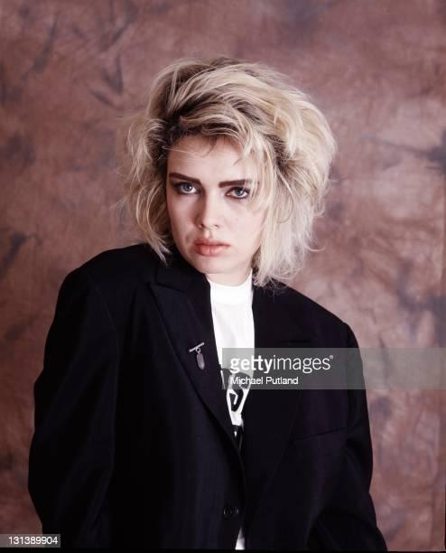 Kim Wilde studio portrait London 1987