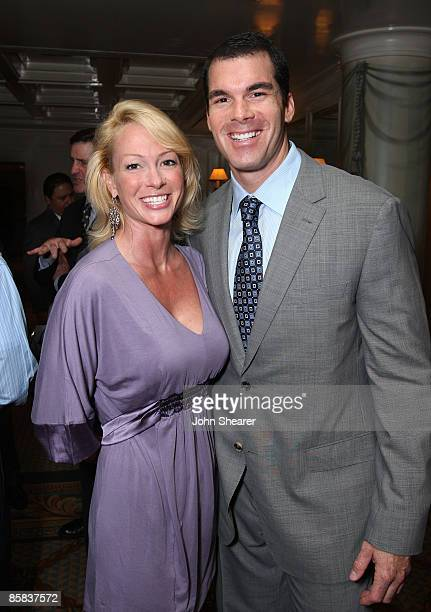 Kim Wolf and actor Brandon Molale attend the International Fund for Animal Welfare Animal Action Awards at Shutters on October 4 2007 in Santa Monica...