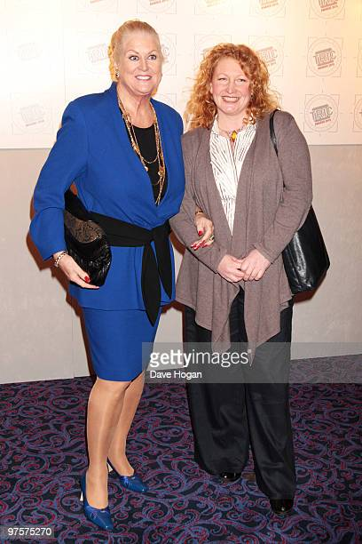 Kim Woodburn and Charlie Dimmock arrive at the TRIC Awards 2010 held at The Grosvenor House Hotel on March 9 2010 in London England