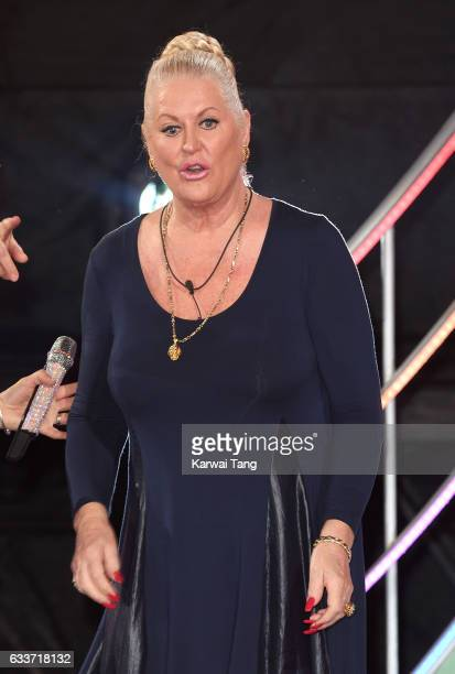 Kim Woodburn comes 3rd after being evicted from the Celebrity Big Brother house on February 3 2017 in Borehamwood United Kingdom