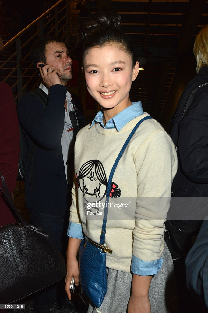 Kim Yoo Jung attends he Salon du Chocolat 2012 Opening Night at Parc des Expositions Porte de Versailles on October 30, 2012 in Paris, France.