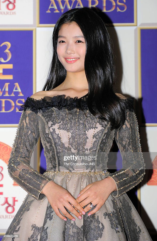 Kim Yoo-Jung arrives at the red carpet of the 2013 MBC drama awards at MBC Open hall on December 30, 2013 in Seoul, South Korea.