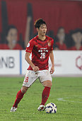 Kim Young Gwon of Guangzhou Evergrande in action during the AFC Asian Champions League match between Guangzhou Guangzhou Evergrande and Western...