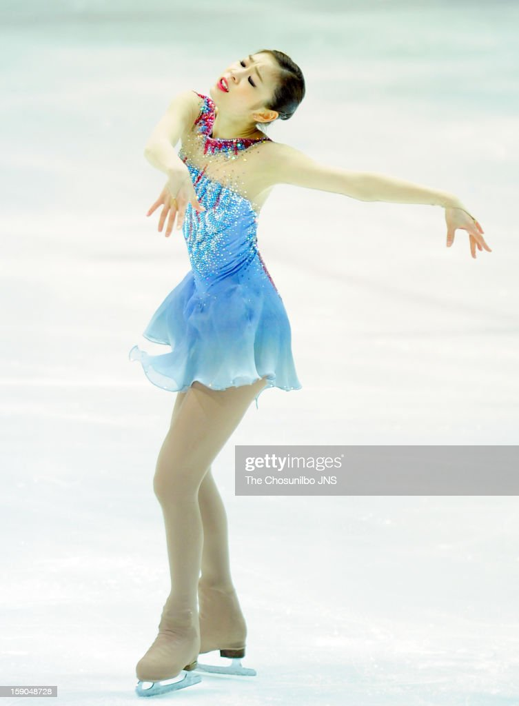 Kim Yu-Na performs during day two of Korea Figure Skating Championshpis 2013 at Mokdong Ice Rink on January 5, 2013 in Seoul, South Korea.