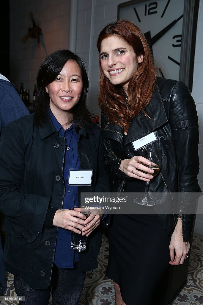 Kim Yutani and <a gi-track='captionPersonalityLinkClicked' href=/galleries/search?phrase=Lake+Bell&family=editorial&specificpeople=209336 ng-click='$event.stopPropagation()'>Lake Bell</a> at The Sundance Film Festival Filmmaker Orientation reception held at The Palihouse Holloway on December 4, 2012 in West Hollywood, California.