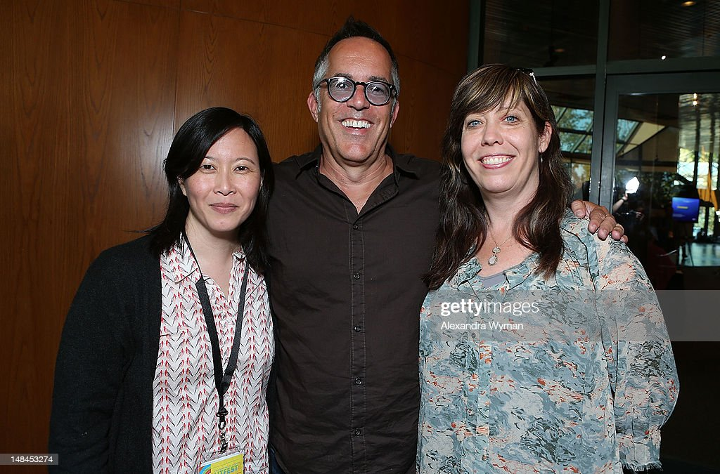 Kim Yutani, John Cooper and Kirsten Schaffer at The Sundance Alumni Event At Outfest Festival held at The DGA Theater on July 16, 2012 in Los Angeles, California.