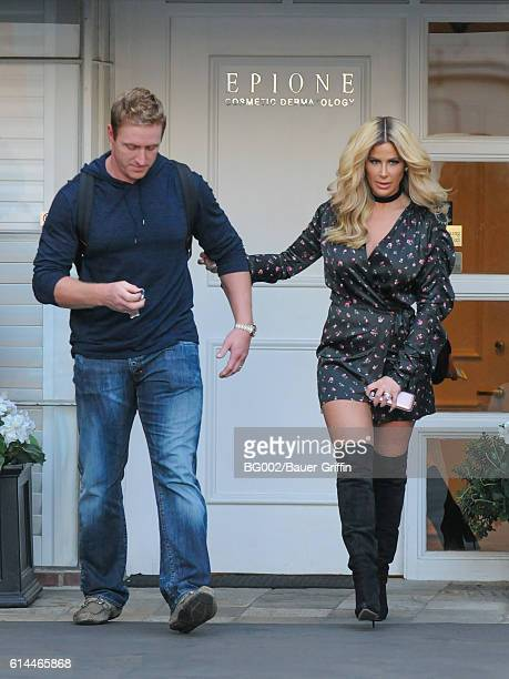 Kim Zolciak and Kroy Biermann are seen on October 13 2016 in Los Angeles California