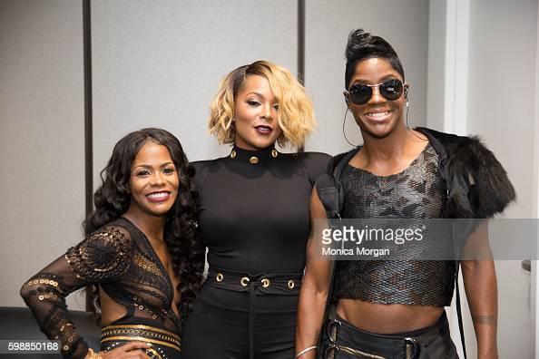 Kima Raynor Dyson Keisha Epps and Pamela Long of Total backstage ...