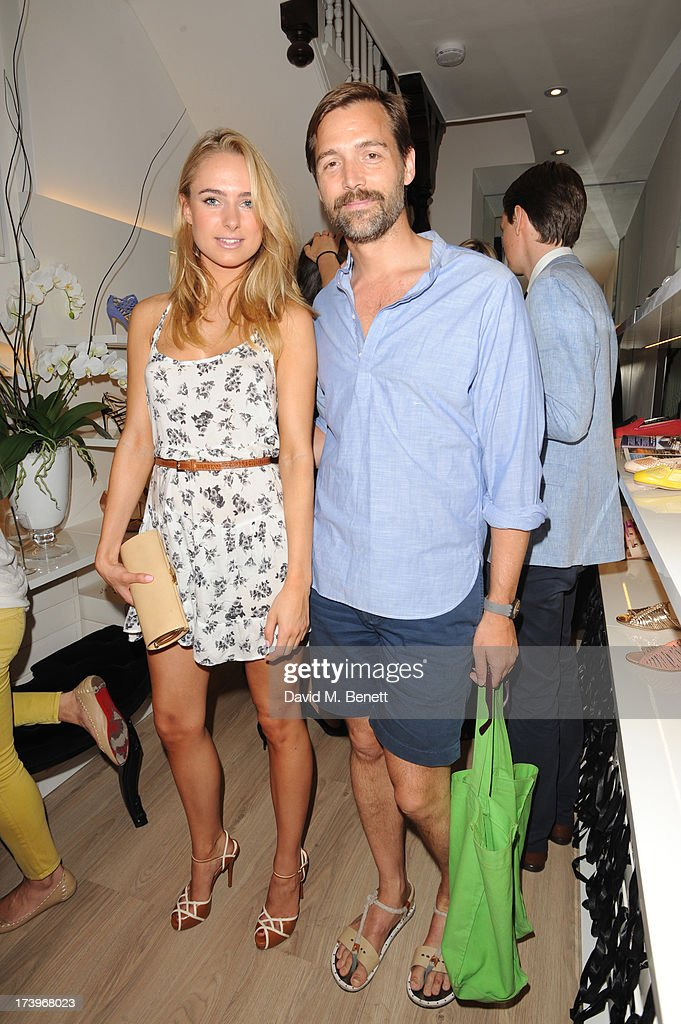 <a gi-track='captionPersonalityLinkClicked' href=/galleries/search?phrase=Kimberley+Garner&family=editorial&specificpeople=9081186 ng-click='$event.stopPropagation()'>Kimberley Garner</a> and Patrick Grant attend Swiss luxury shoe brand Lele Pyp VIP London store launch party on July 18, 2013 in London, England.