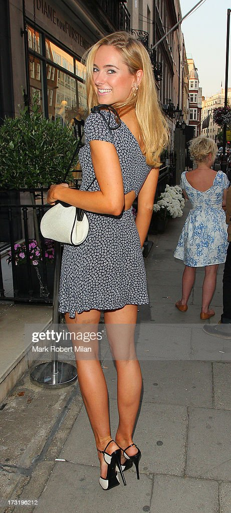 Kimberley Garner attending the Raw Instinct summer on July 9, 2013 in London, England.