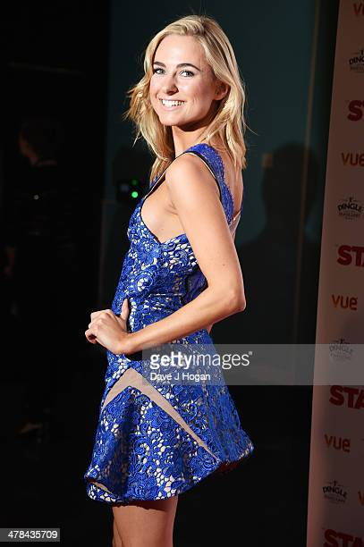 Kimberley Garner attends a gala screening of 'Stag' at The Vue Leicester Square on March 13 2014 in London England