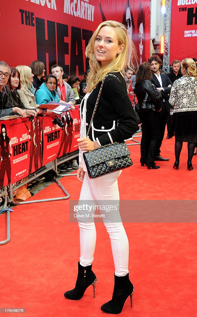 Kimberley Garner attends a gala screening of 'The Heat' at The Curzon Mayfair on June 13, 2013 in London, England.