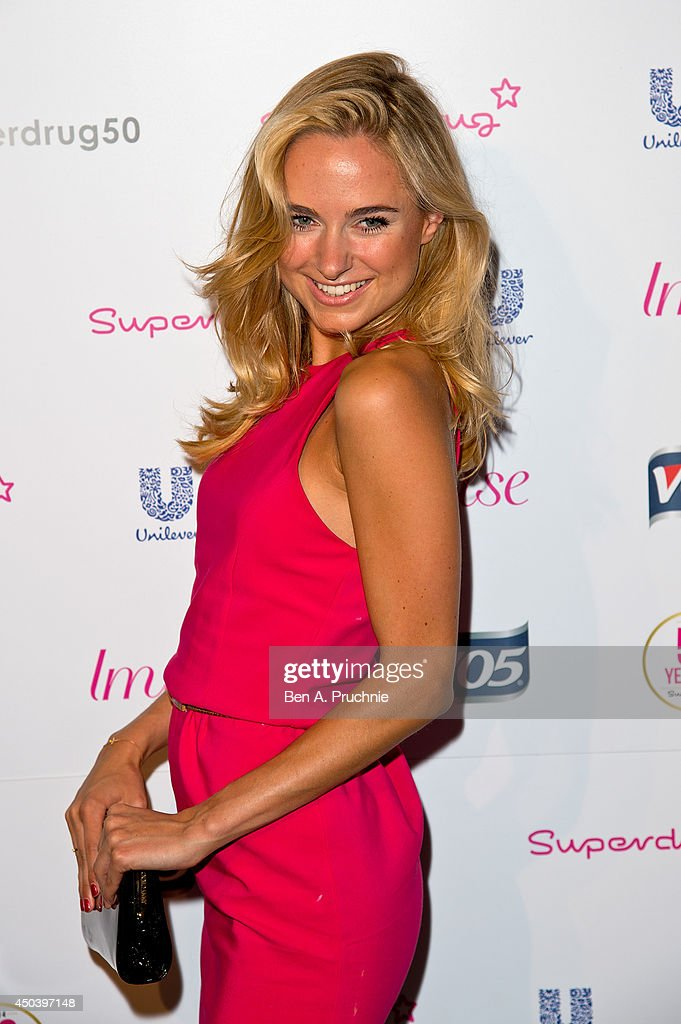 <a gi-track='captionPersonalityLinkClicked' href=/galleries/search?phrase=Kimberley+Garner&family=editorial&specificpeople=9081186 ng-click='$event.stopPropagation()'>Kimberley Garner</a> attends Superdrug's 50th anniversary party at The Bankside Vaults on June 10, 2014 in London, England.