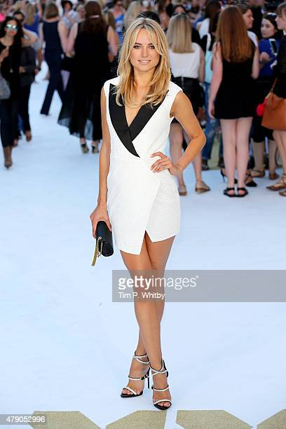 Kimberley Garner attends the European Premiere of 'Magic Mike XXL' at Vue West End on June 30 2015 in London England