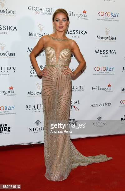 Kimberley Garner attends the Eva Longoria Global Gift Gala during the 70th annual Cannes Film Festival at on May 19 2017 in Cannes France