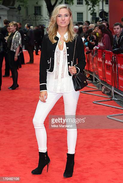 Kimberley Garner attends the gala screening of 'The Heat' at The Curzon Mayfair on June 13 2013 in London England