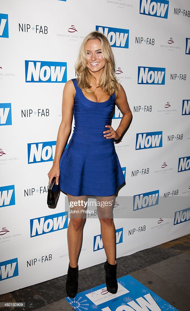 <a gi-track='captionPersonalityLinkClicked' href=/galleries/search?phrase=Kimberley+Garner&family=editorial&specificpeople=9081186 ng-click='$event.stopPropagation()'>Kimberley Garner</a> attends the Now Magazine Christmas party at Soho Sanctum Hotel on November 26, 2013 in London, England.