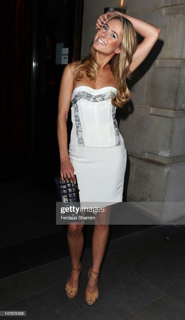 Kimberley Garner attends the The Slazenger Party at Aqua on June 28, 2012 in London, England.