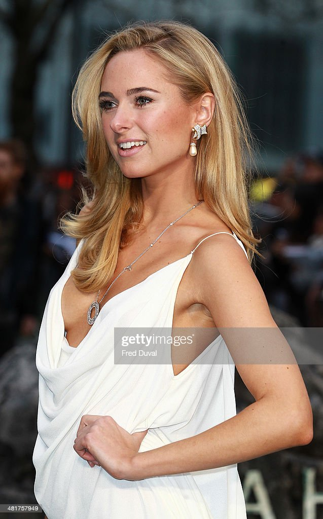 Kimberley Garner attends the UK film premiere of 'Noah' at Odeon Leicester Square on March 31, 2014 in London, England.